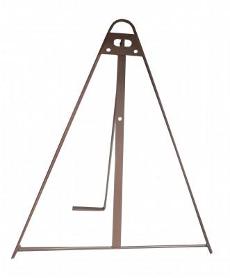 Cavalletto sostegno cartelli altezza 80cm - Cartello in ferro e plastica