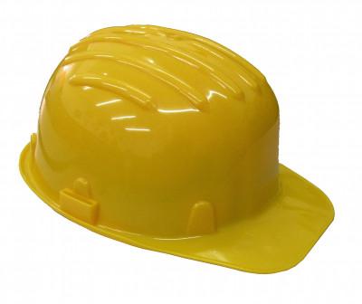 Elmetto di protezione con fascia antisudore